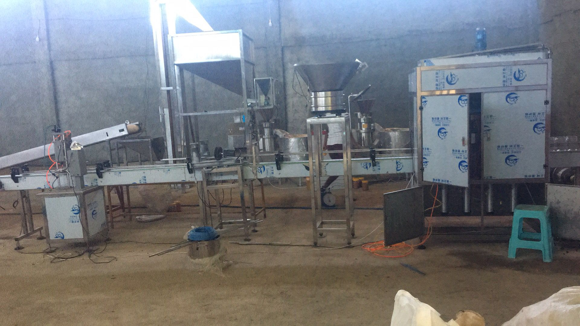 Small Scale Commercial Bean Grinding Cocoa Butter Press Extract Colloid Mill Production Line Price Making Peanut Butter Machine