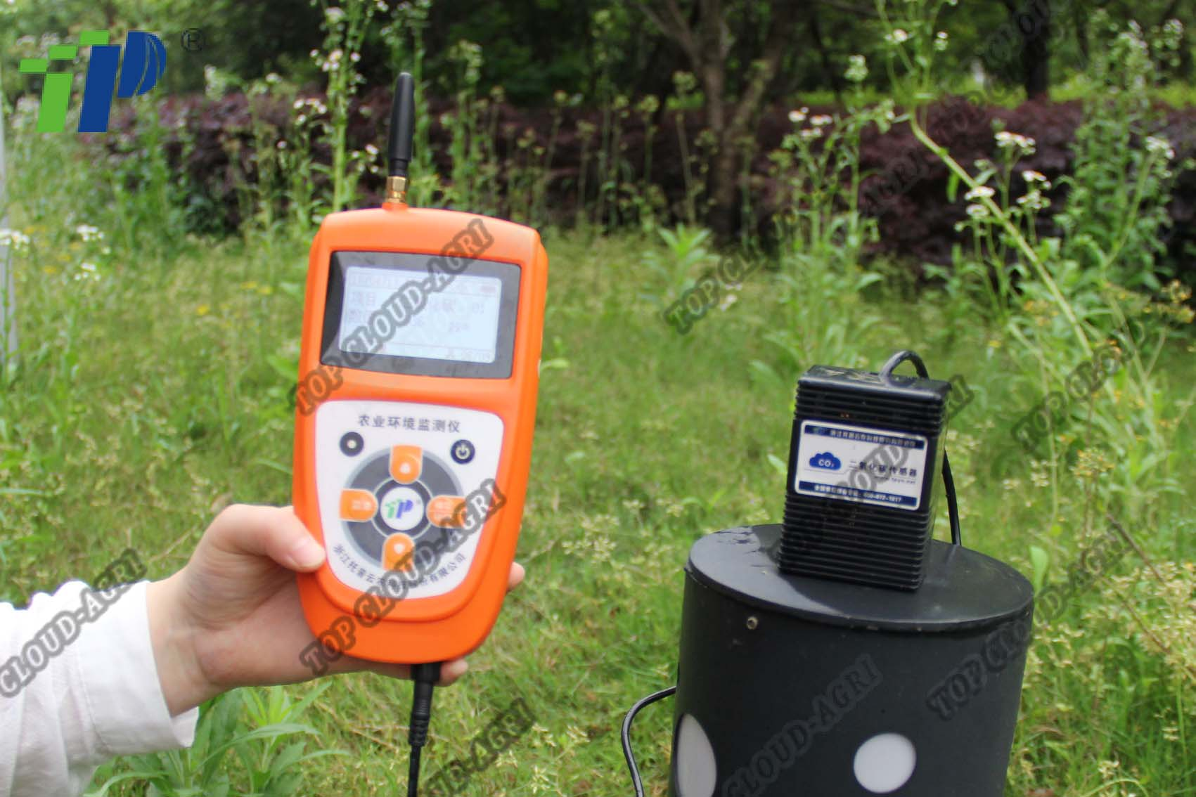 Handheld Portable CO2 Detector with CO2 Sensor