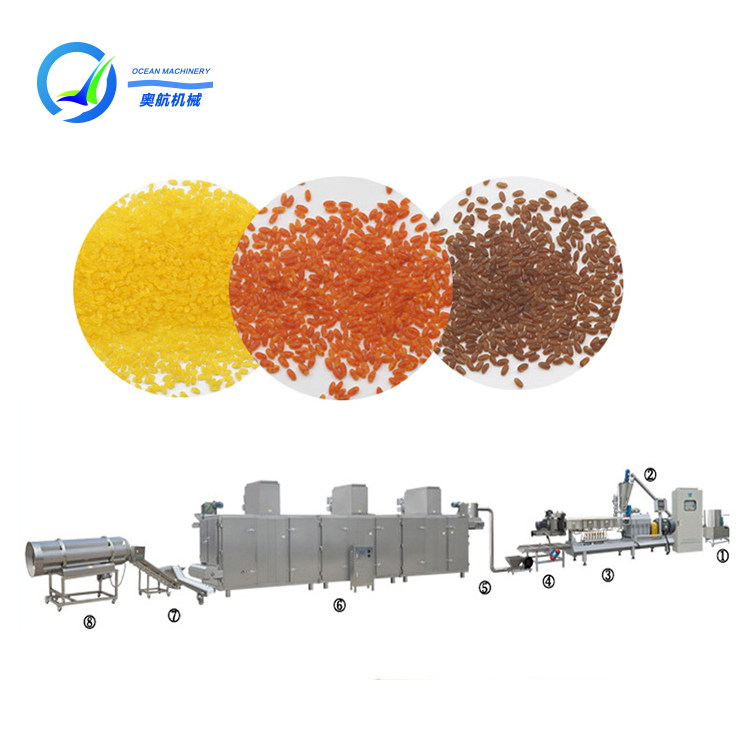 Cassava Corn Potato Grain Flour Powder Extruder Making Machines Grinder Crusher