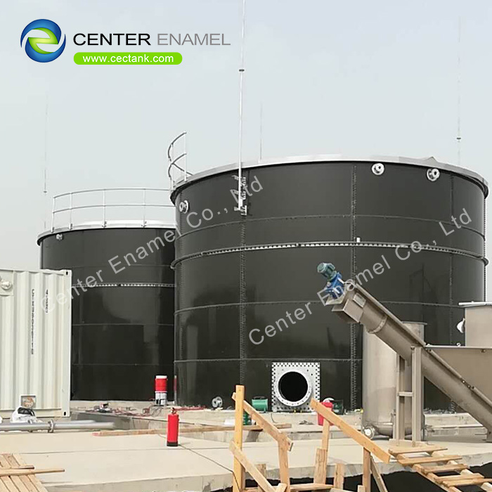 230 000 Gallon Bolted Steel Fire Water Tank With NSF61 Certification