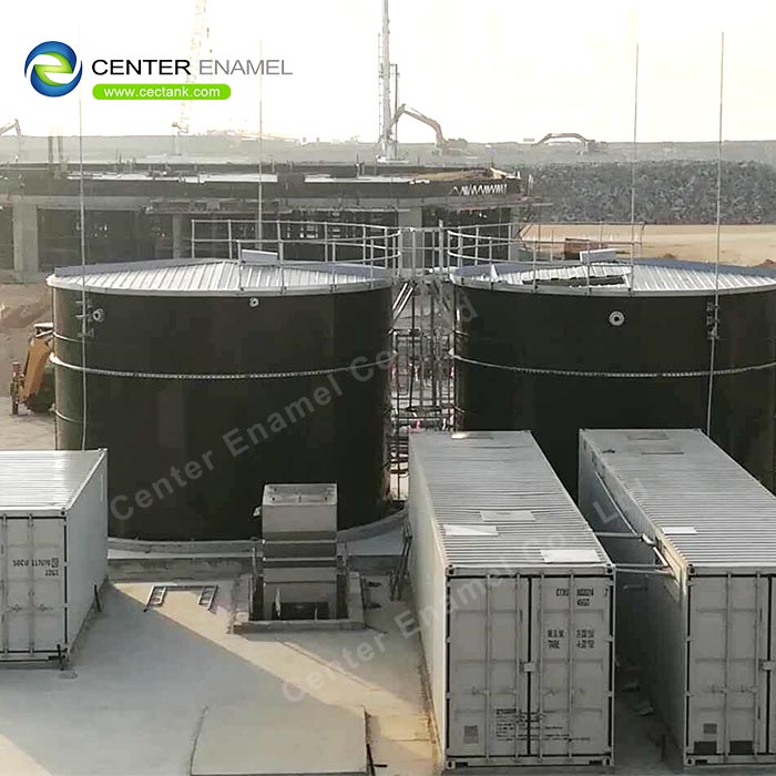 20000 Gallon Glass lined steel Wastewater Treatment Tanks