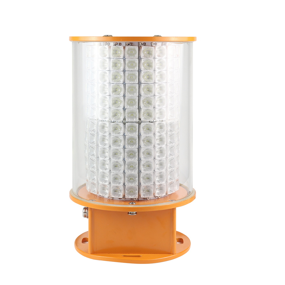 High intensity 360 Aviation obstruction light