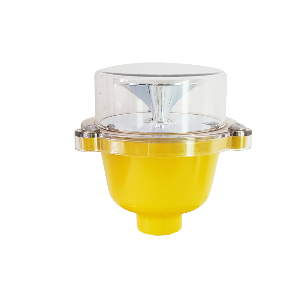 latest GS-LI/B Low-intensity aviation obstruction light, base with high intensity aviation aluminum casting, fully sealed structure. Light source adopt with independent research and development dedica
