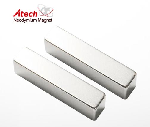 Cube Magnet 3/4 inch x1/4 inch x1/4 inch Conveyor Belt Magnet Block