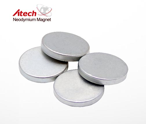 3/4 inch x 1/8 inch Circle Magents Industrial Magnets N42 Custom Round Magnet