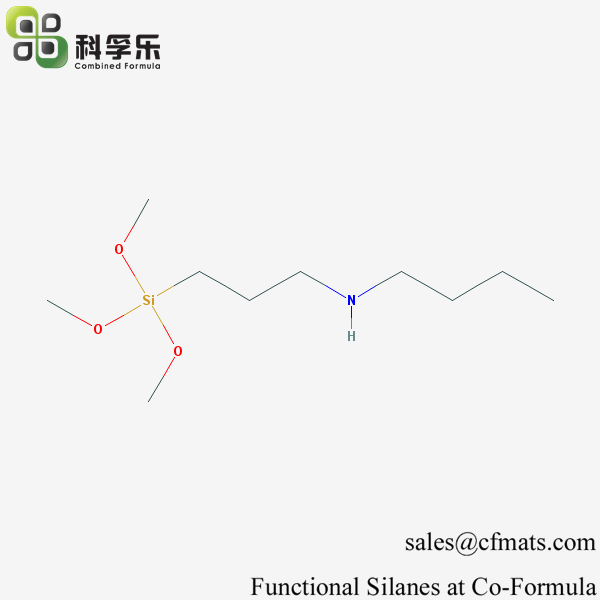 CFS-563, N-(3-(Trimethoxysilyl)propyl)butylamine, Cas No. 31024-56-3