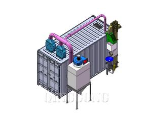 types of shot blasting machine