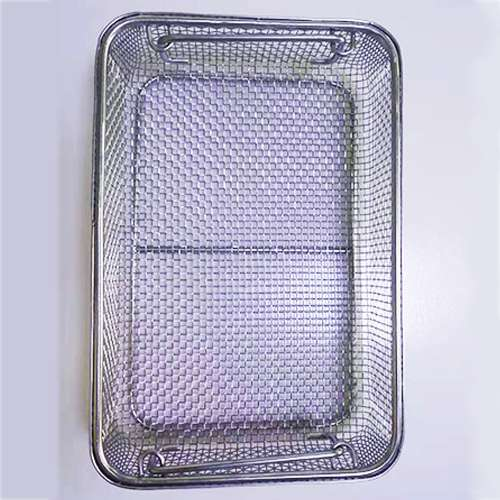Stainless Steel Stamping Wire Mesh Medical Disinfection Basket