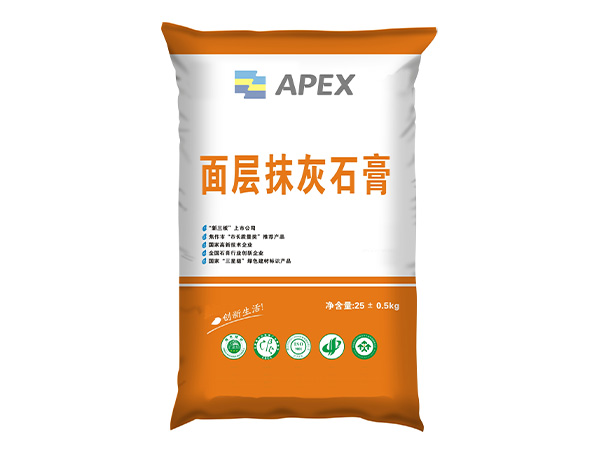Surface Plaster Gypsum Mortar