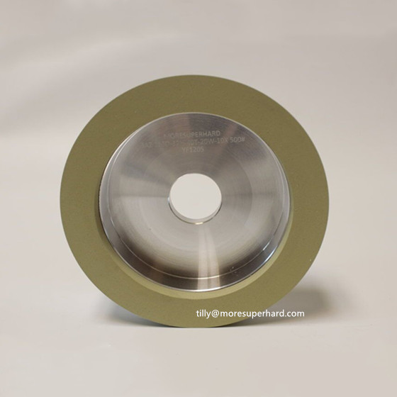 6A2 vitrified diamond grinding wheel for PCD/PCBN tools