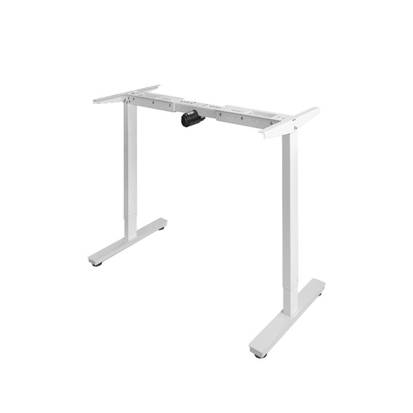 One Motor Two Leg Electric Height Adjustable Standing Desk Frame