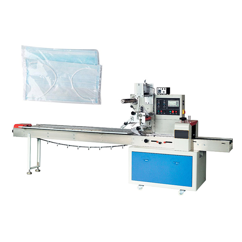Horizontal Flowpack Disposable Gloves/Face Mask Packing Machine