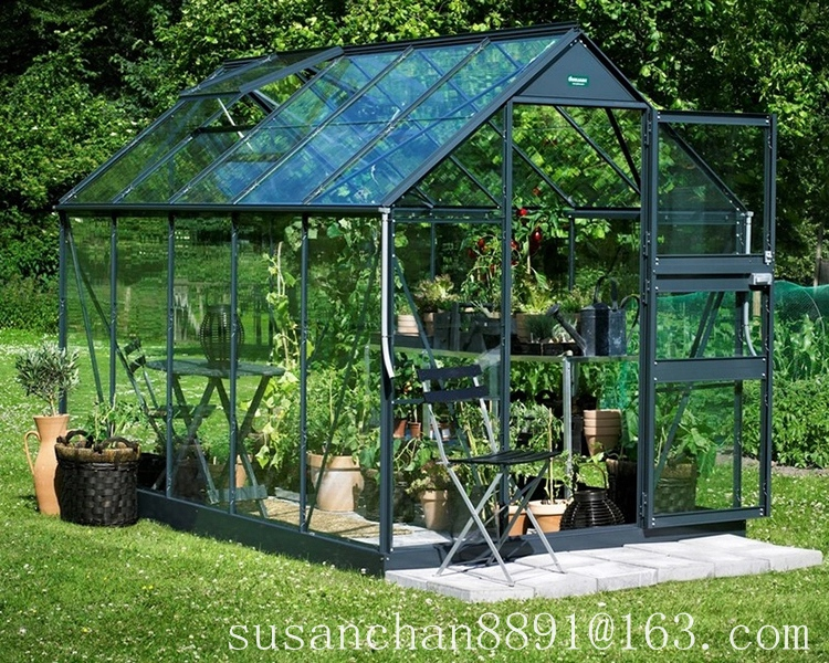 Glass Garden Greenhouse Plastic greenhouse