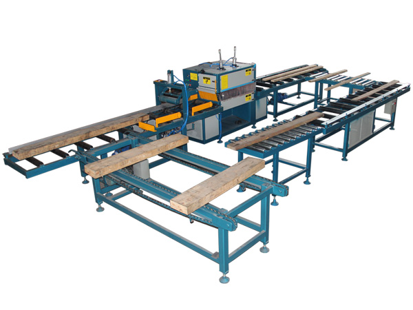 automatic square wood multi blade saw