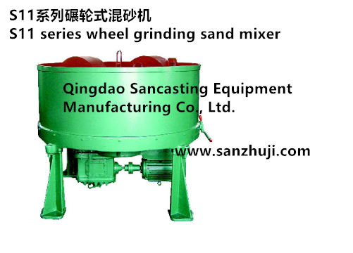 S11 series wheel grinding sand mixer