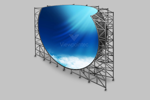 Custom LED Display for Impactful 360° Viewing