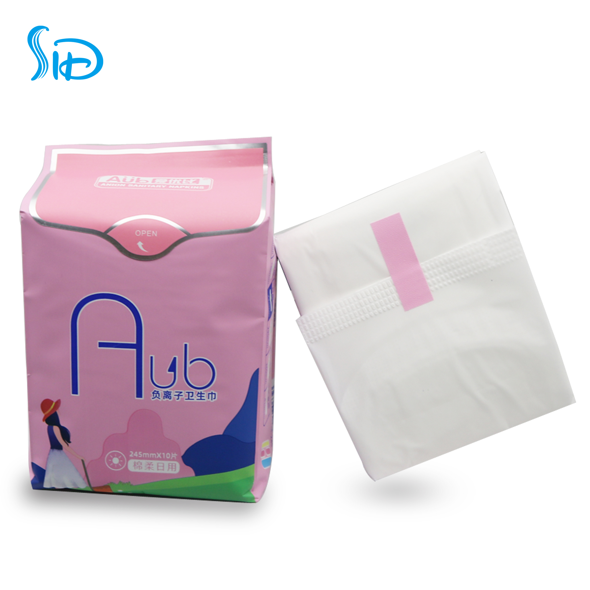 Anion pads for women  sanitary napkins