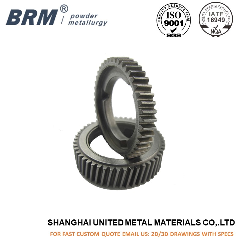 Metal Sintered Helical Gear