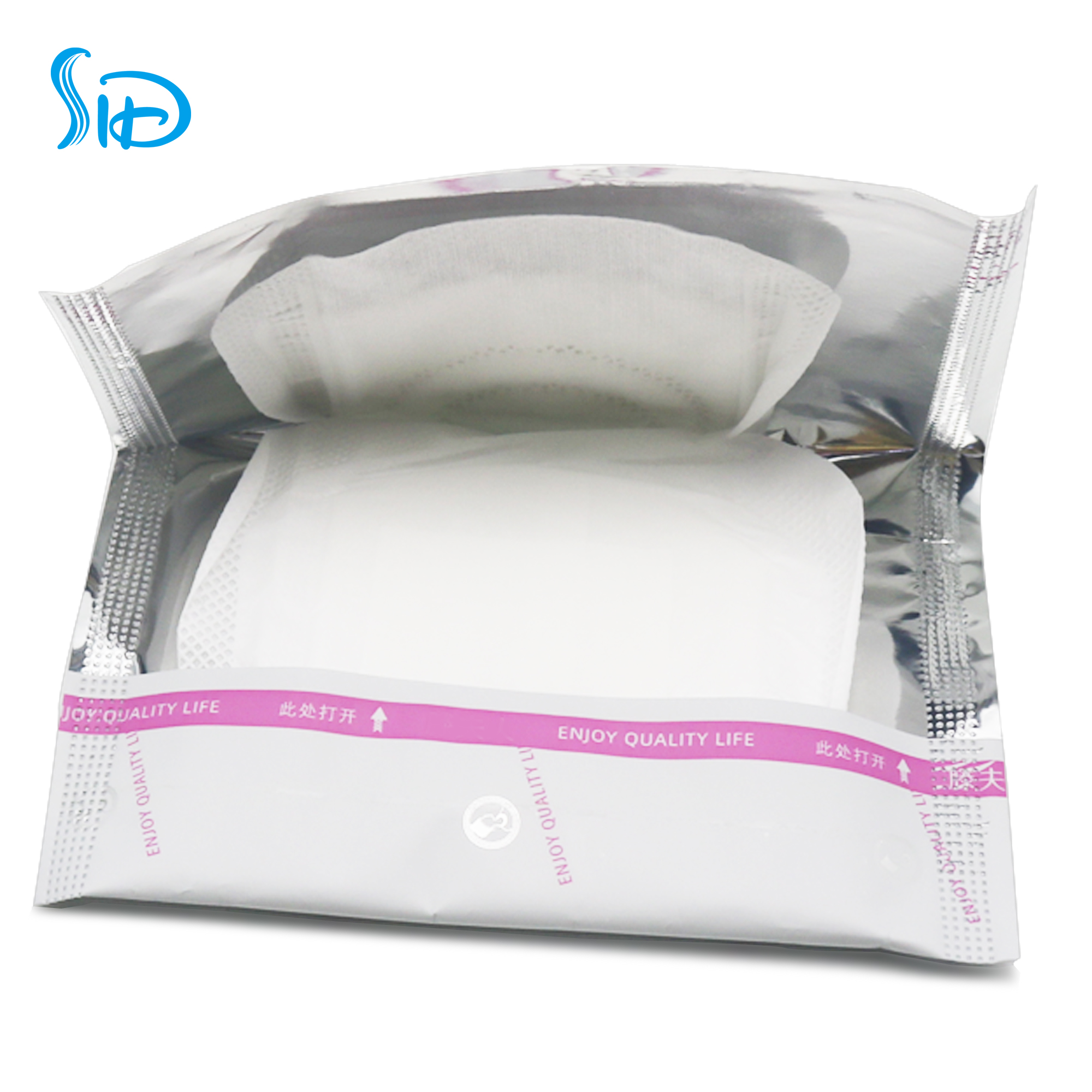 Safe sanitary napkins for menstrual products