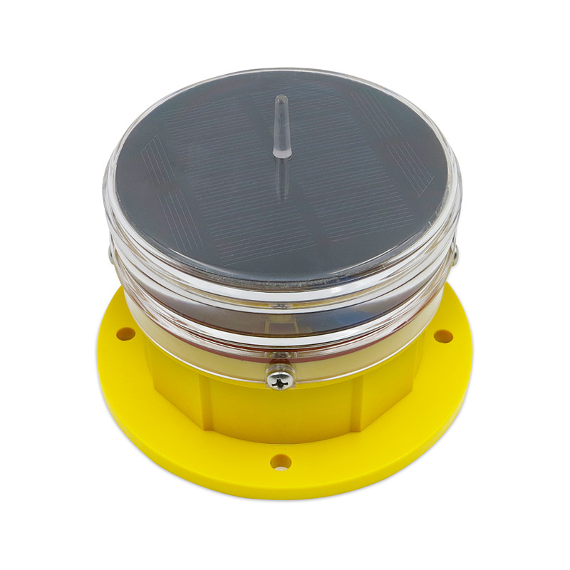 mini solar powered marine navigation light