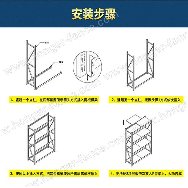 Top Quality Factory Price Light Shelf storage shelf