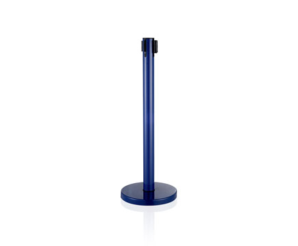 LG-B6 Blue Vip Control Crowd Queue Pole Post Belt Stanchions for Airport