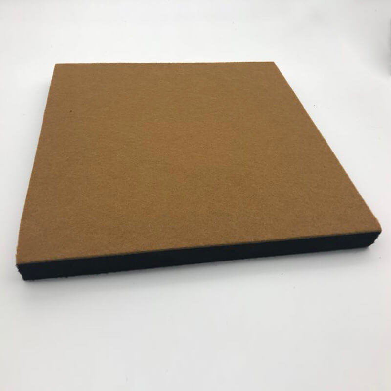 Designed Acoustic Felt Top with Acoustic Base Panel