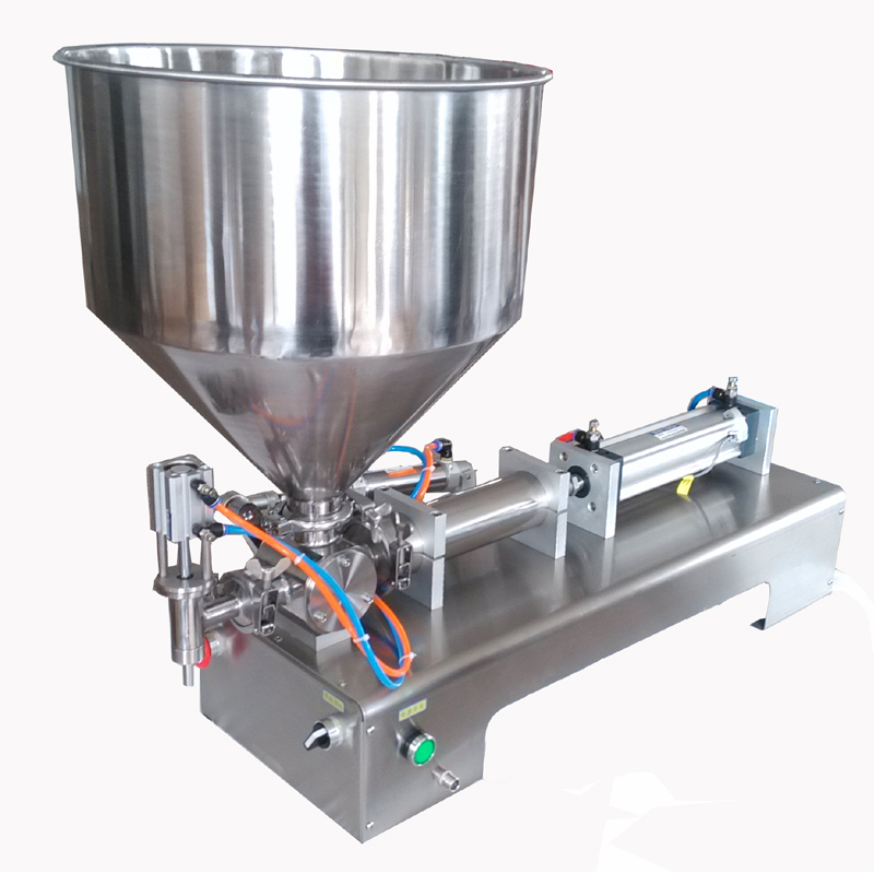 Semi automatic ointment filling machine