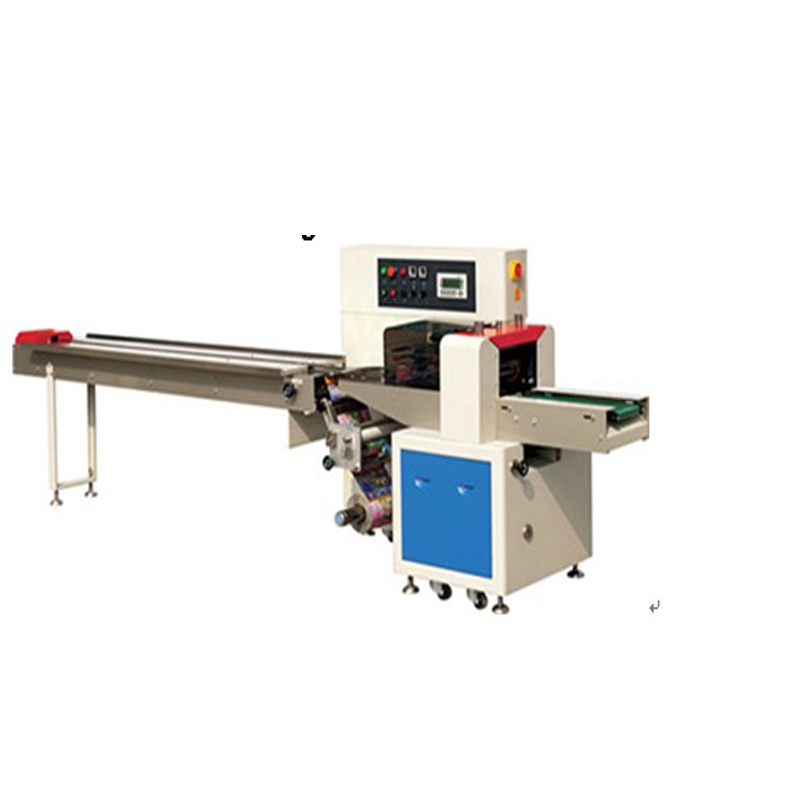 Down paper pillow type packing machine