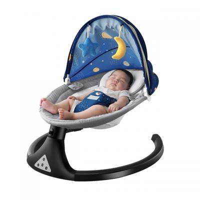 Removable Seat Cover Infant Rocking Sleeper Plush Toys Baby Bouncer Cribs