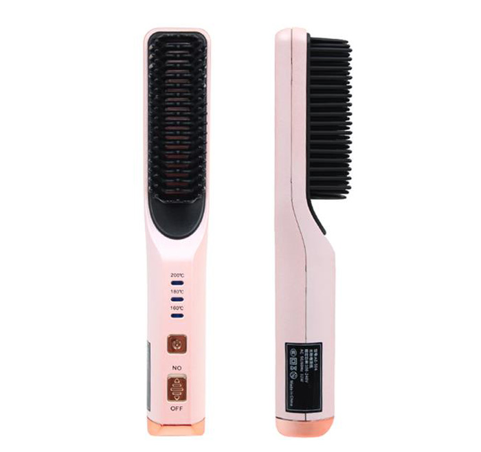 Hair straightener bangs hair straightening comb multi-stage temperature adjustment 3D comb teeth electric AE-506