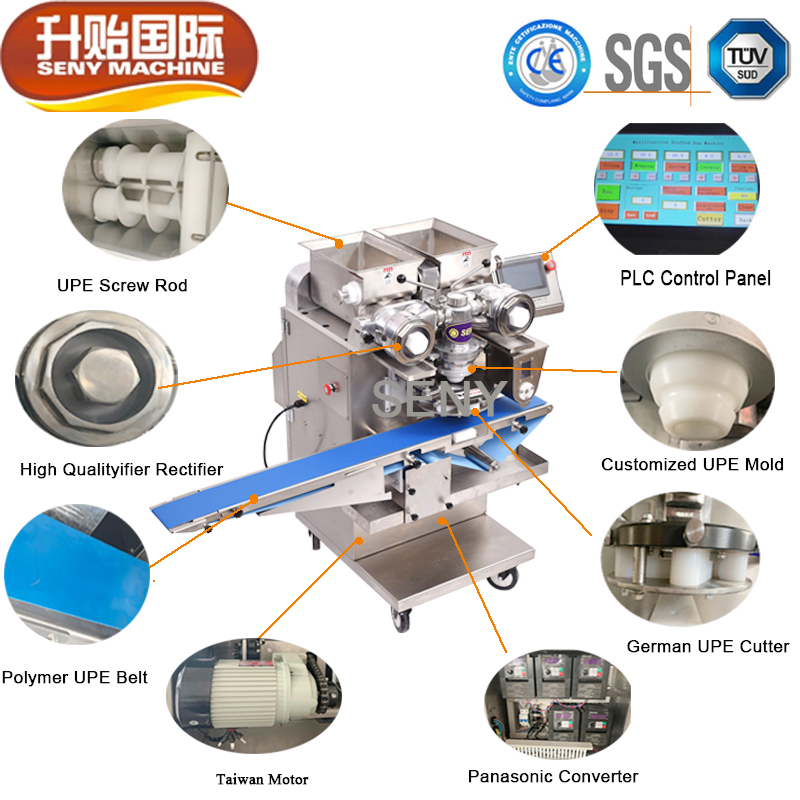 SY-800 Frozen full automatic fish ball making machine meatball machine
