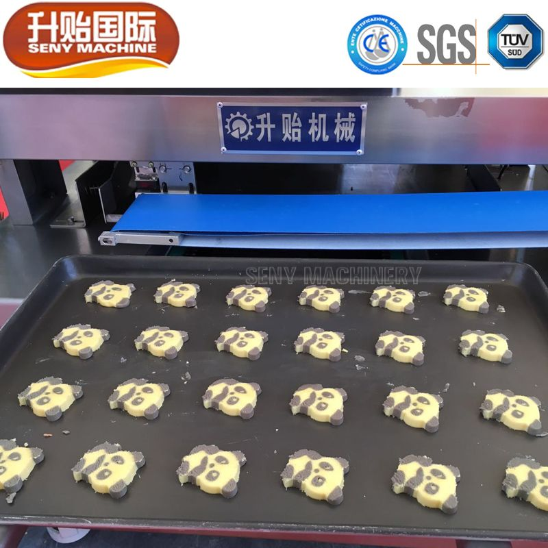Automatic Heart-shapes Cookies Biscuits Making Machine Production Line
