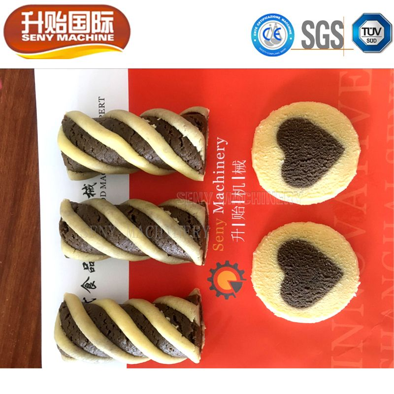 SY-810 Automatic Filled Twist Cookie Machine Production Line
