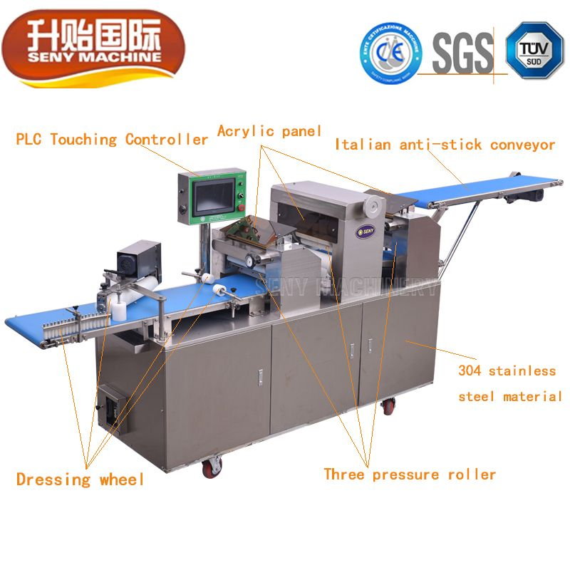 SY-860 Automatic Chinese Baozi Buns Machine Production Line