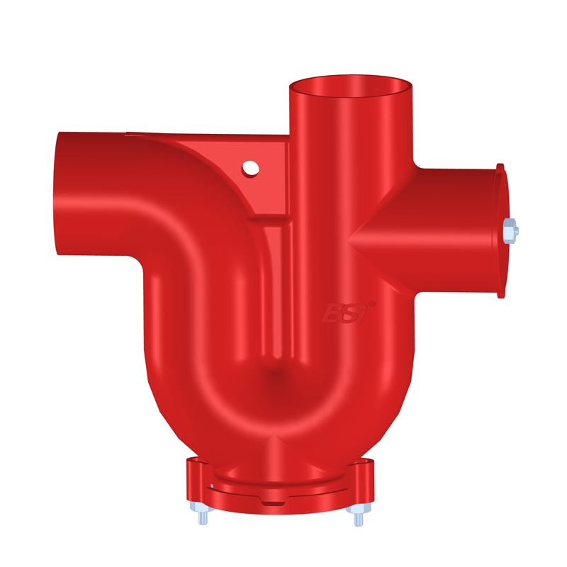 DIN EN877 Pipe Fittings