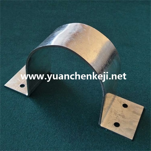 Galvanized Sheet Hoop /C Type Clamp Pipe Clamp /Power Clamp/ Bending Mold Processing