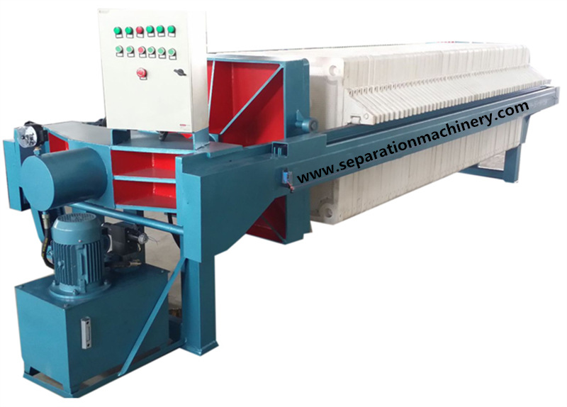 Polypropylene Membrane Mining Filter Press Machine For Russia