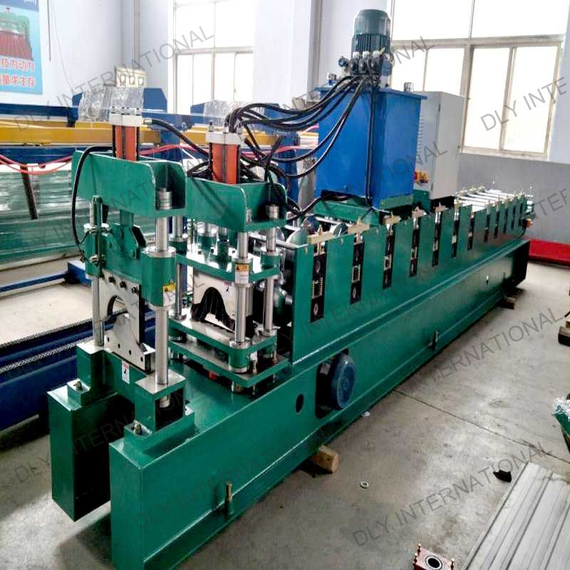 Roof ridge tiles metal roof ridge cap roll forming machine