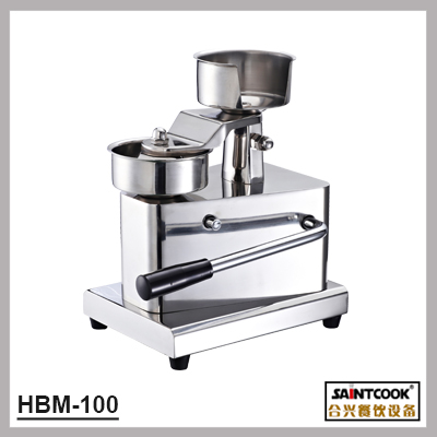 stainless steel hamburger patty press