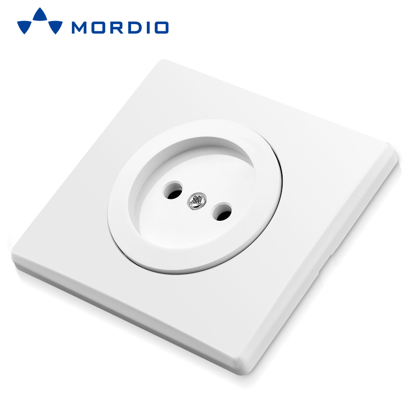 K500 Euro and UK standard Auto Connection 16A Schuko/French MF Socket with 1/2 gang Light Switch 250V~