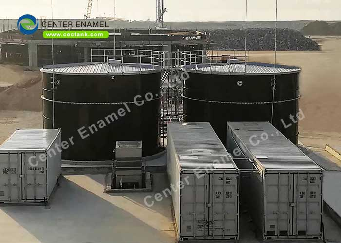 High Corrosion Resistance Expanded GFS Tanks For Industrial Watstwater Treatment