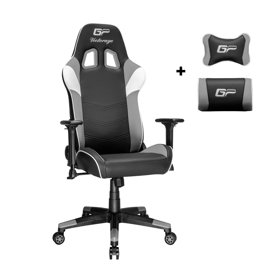 VICTORAGE Alpha Series Ergonomic Design Gaming Chair(Grey)
