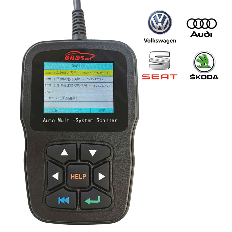 OBDII Diagnostic Scan Tool Automotive Scanner Engine Fault Code Reader Scan Tool OBD2
