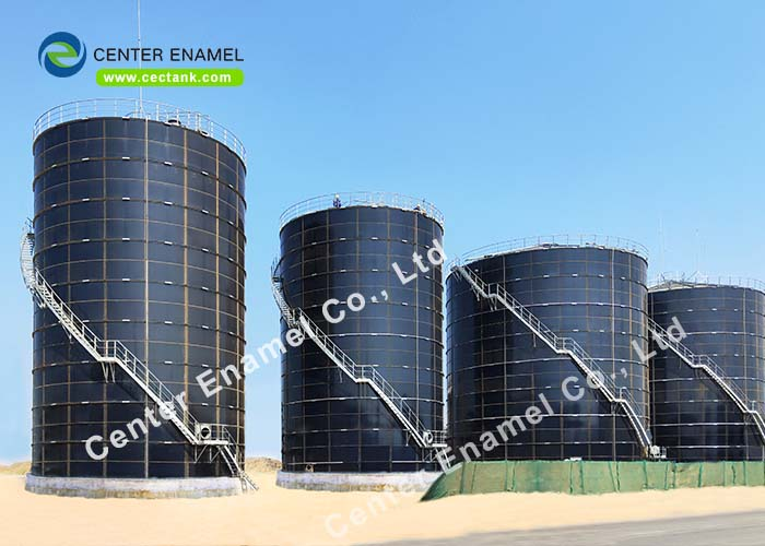 30000 gallon Glass Fused to Steel Industrial Liquid Storage Tanks, Liquid Fertilizer Storage Tanks