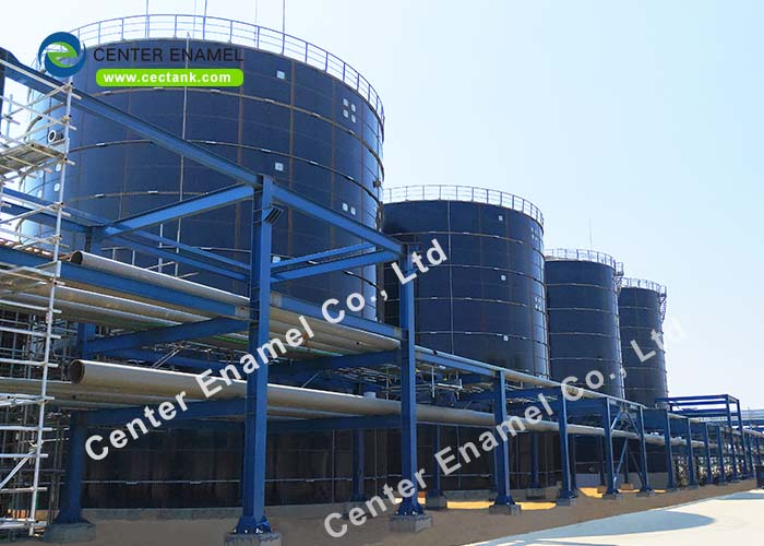 Glass Lined Steel Industrial Liquid Storage Tanks AWWA D103-09 EN / ISO28765 2011