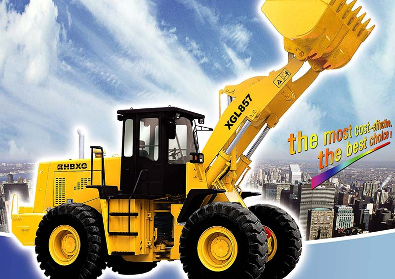 Powerful long using life Wheel Loader