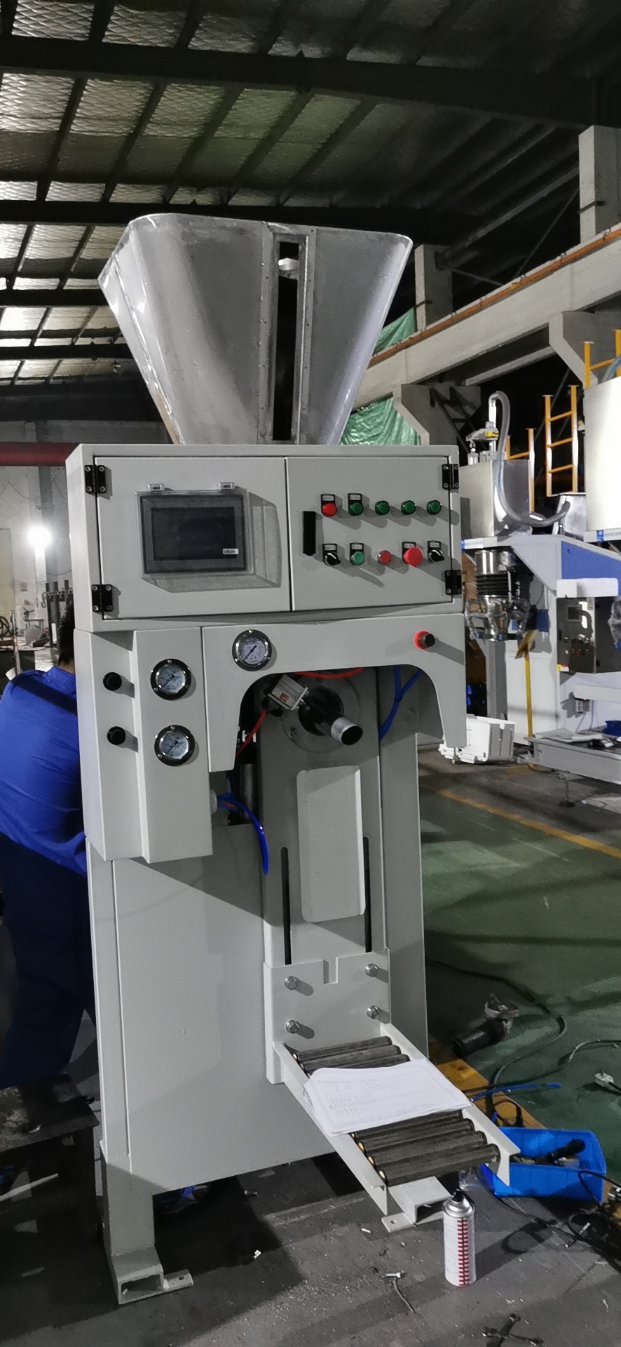 Kraft Bag Filling Machine