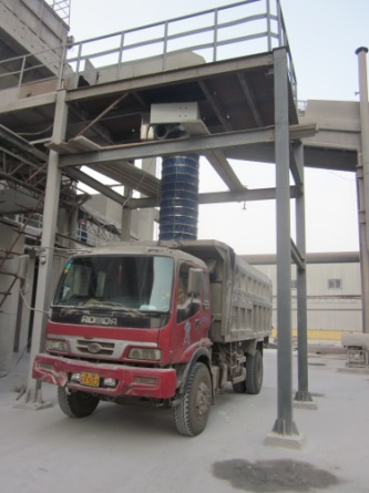 Telescopic Chute cement loader