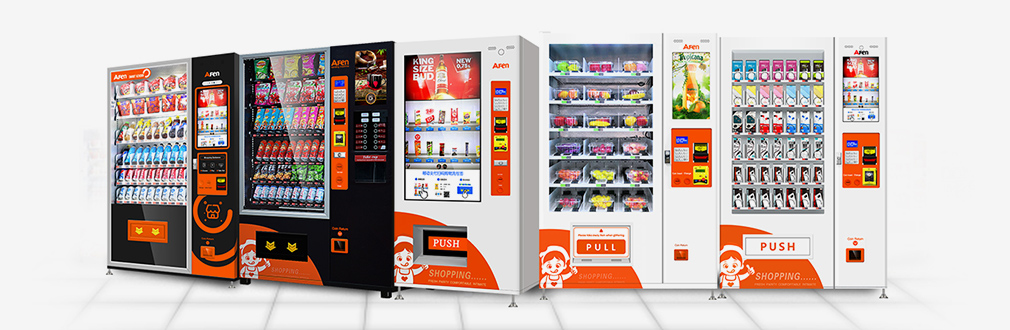 Touch Screen/LCD Vending Machine